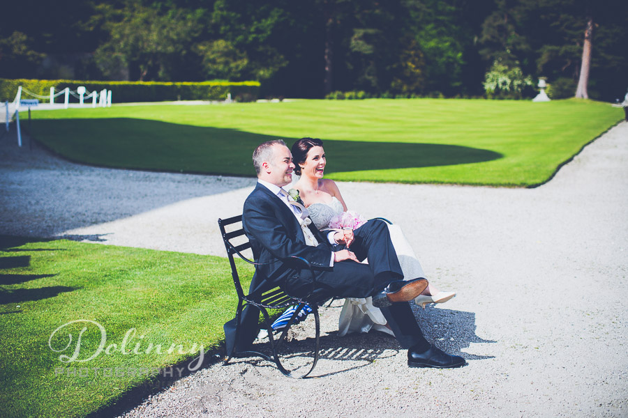 Wedding Photographer Dublin - Powerscourt Gardens wedding