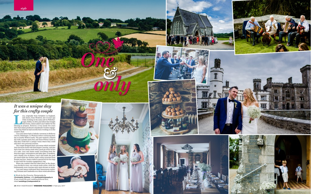 Wedding photographer Wexford